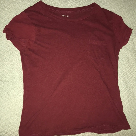 Madewell Tops - maroon/red T-shirt from madewell,Small but flowy